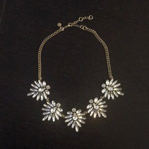 J Crew crystal necklace